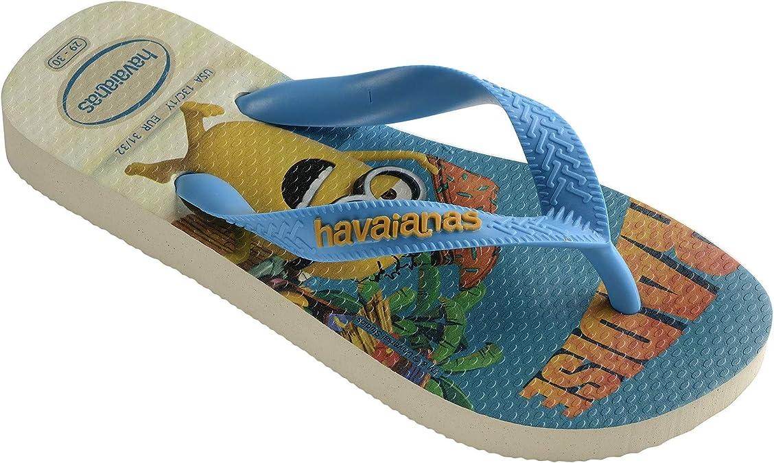 Havaianas Hav Minions Beige//Turquoise Tongues gar/çon