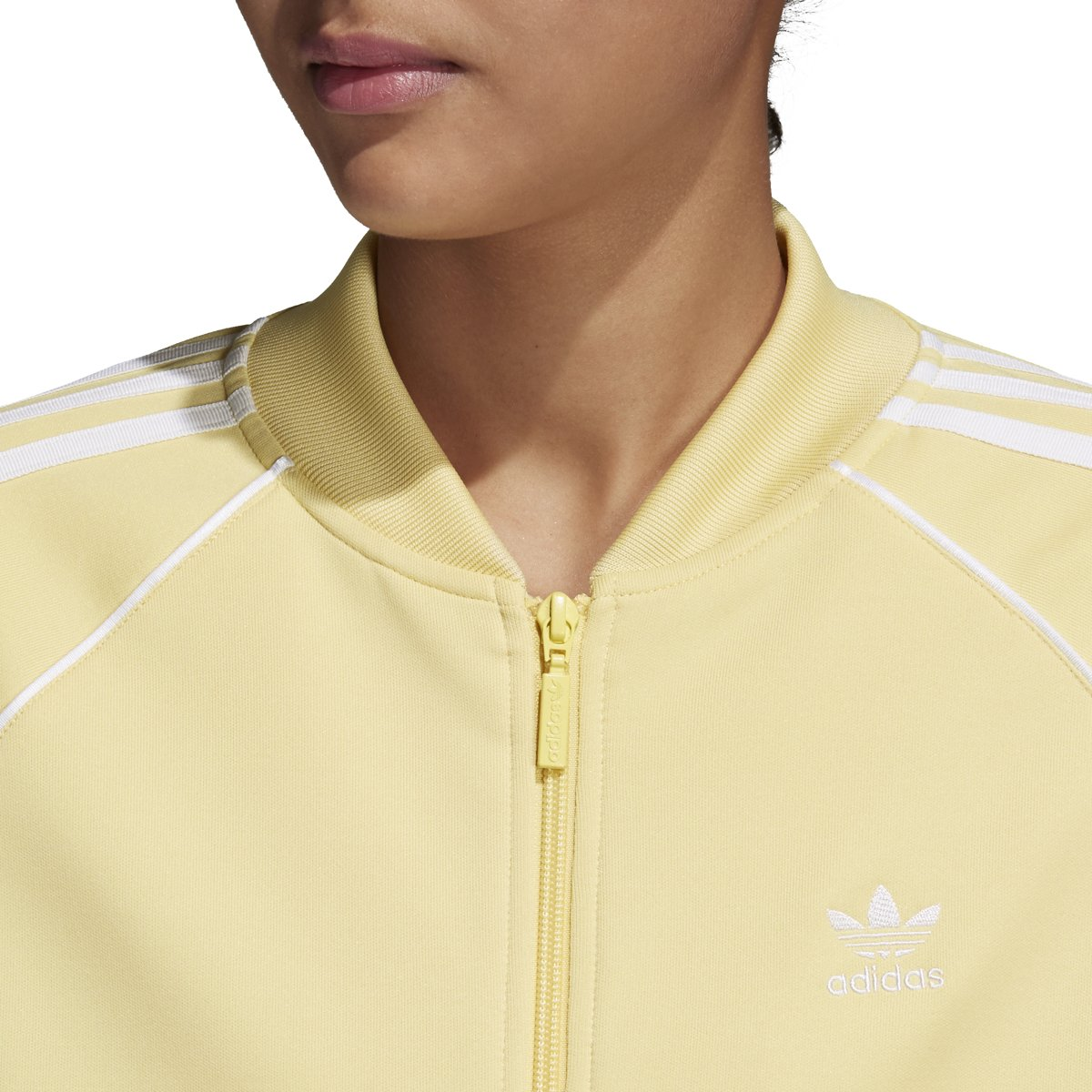 adidas Originals Women's SST Track Jacket Sand X-Small