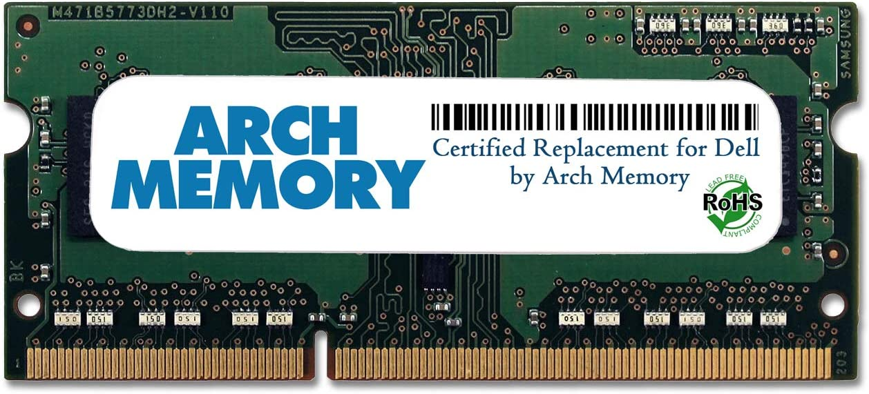 Arch Memory Replacement for Dell SNPNWMX1C/4G A6951103 4 GB 204-Pin DDR3L So-dimm RAM for Inspiron 15 3000 Series (3558)