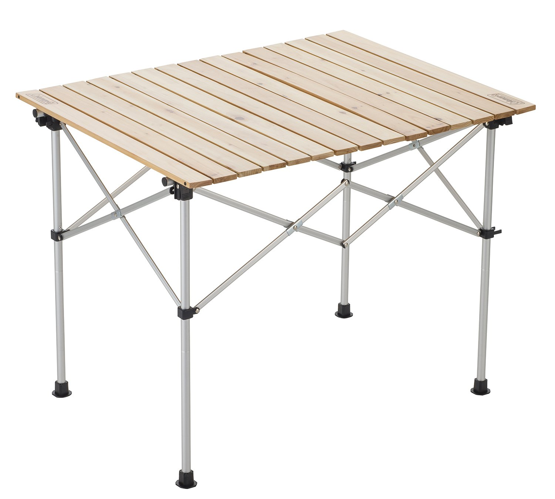 Coleman(コールマン) テーブル ナチュラルウッドロールテーブル/90 (2~4人用)