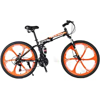 Wild and Wolf Men 2- Folding KTM Version Mountain Bike