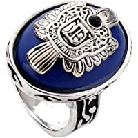 lureme Vampire Diaries Daylight Walking Signet Damon's Ring for Fans(04001478)