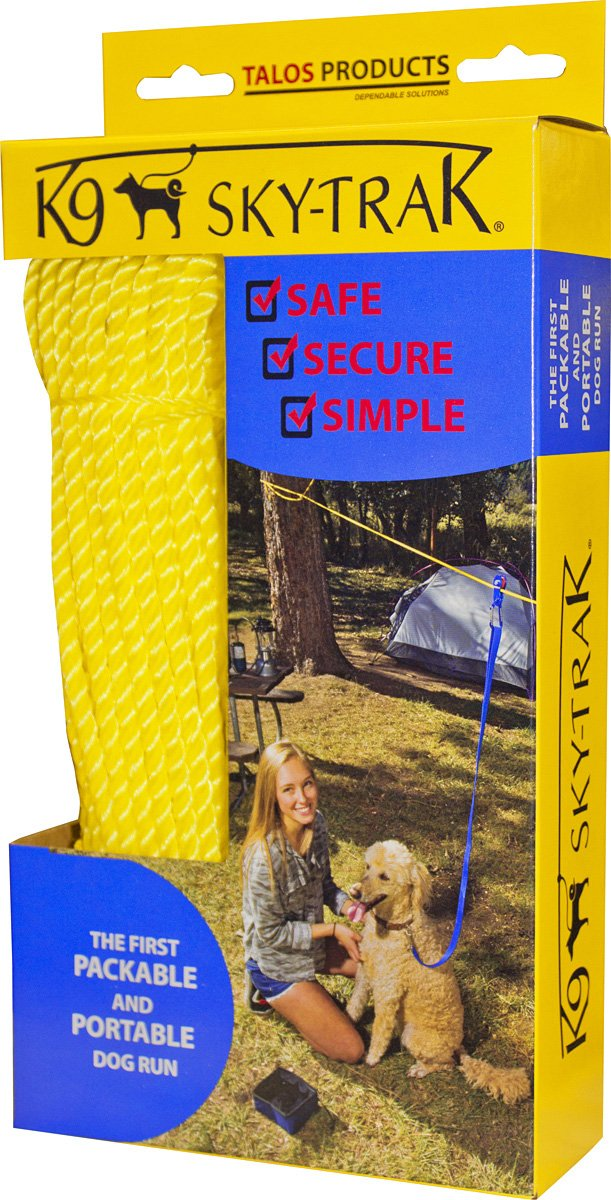 Omega Pacific K 9 Sky Trac Portable Dog Run by Omega Pacific