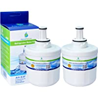 2x AH-S3F filtro de agua compatibles para Samsung nevera DA29-00003F, HAFIN1/EXP, DA97-06317A-B, Aqua-Pure Plus, DA29…