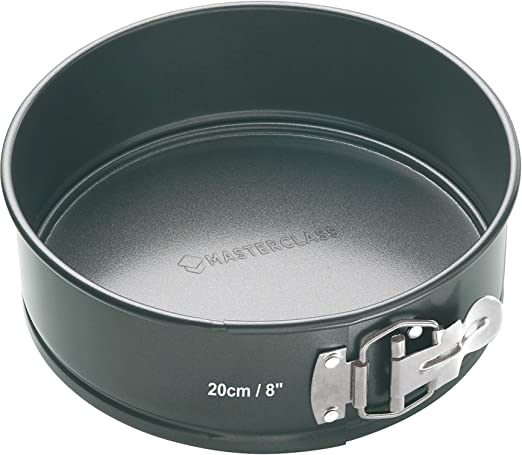 2x Set of Round Non-Stick 7-Inch Spring Form Deep Cake Bake Tins Oven Tray