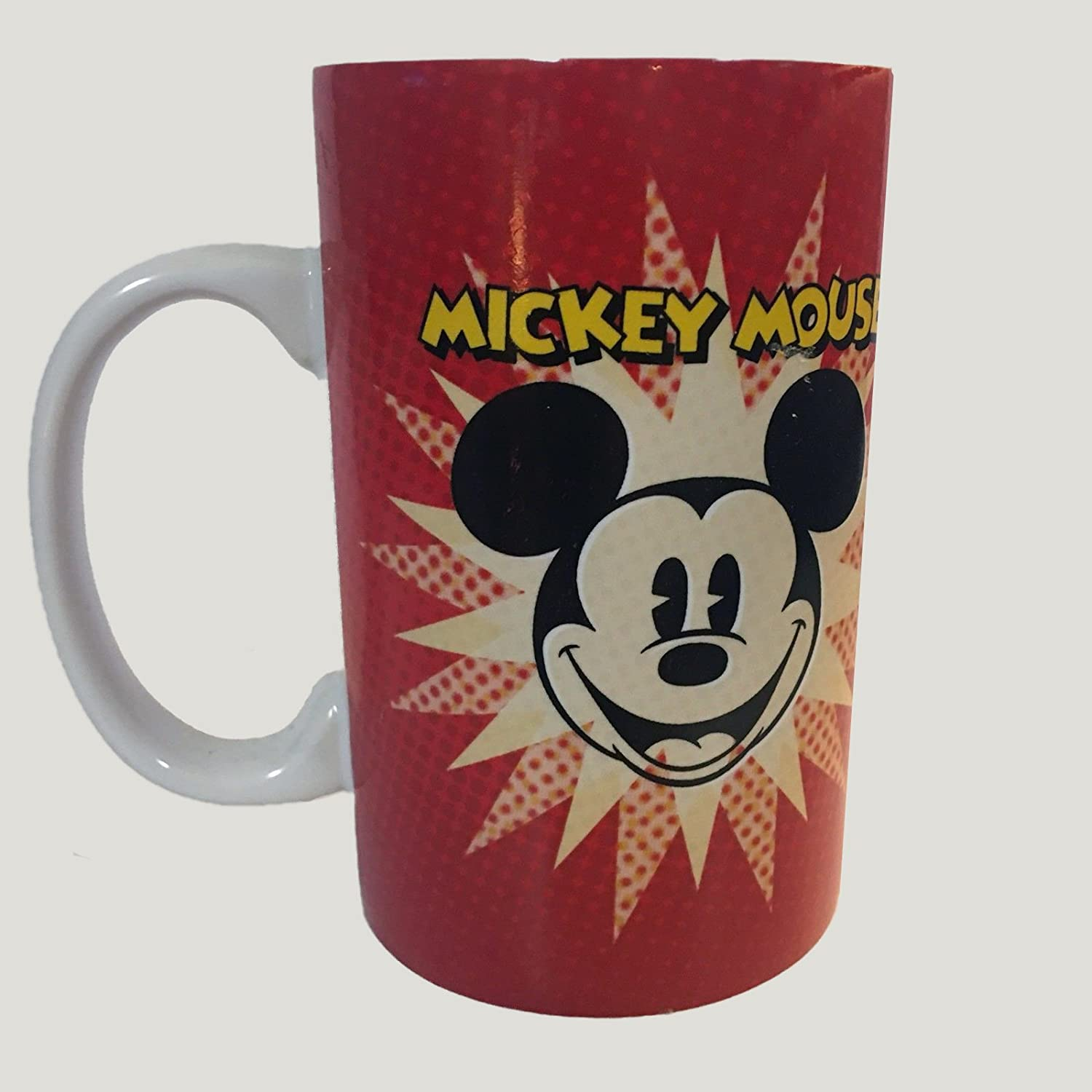 Mickey Mouse Coffee Mug Nice is not the same as wimpy.