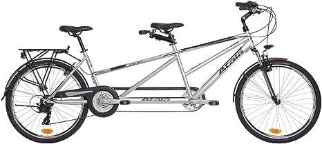 Atala - Bicicleta Tandem Atala Due gris / azul mate, 21 velocidades ...