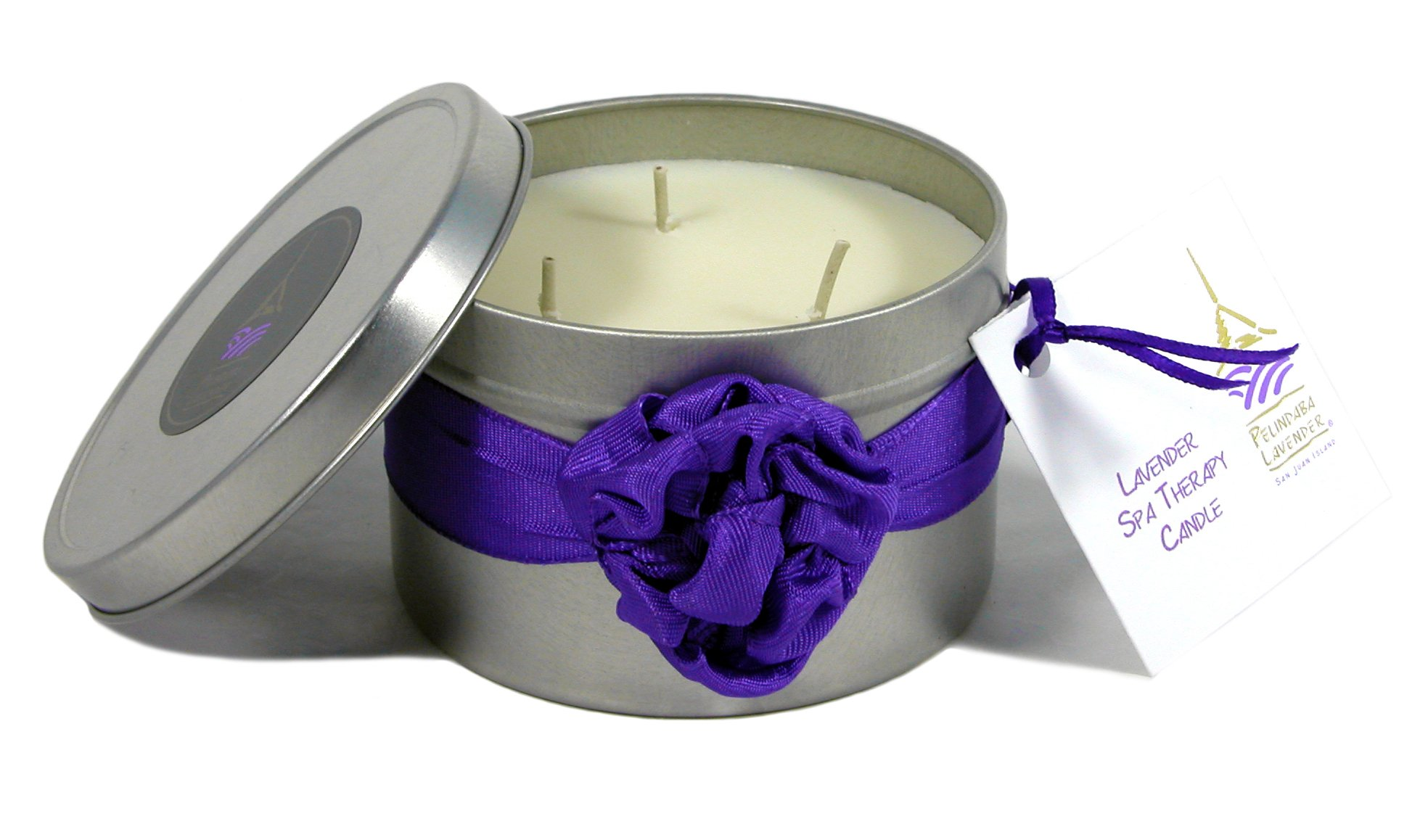 Pelindaba Lavender Spa Therapy Massage Oil Candle