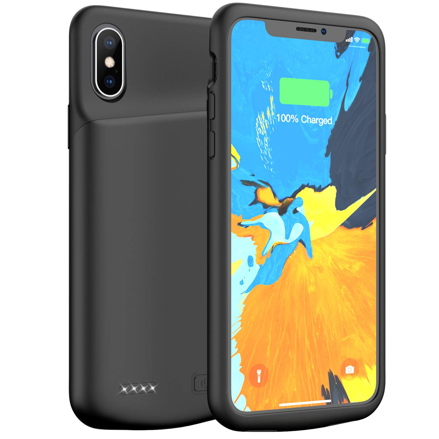 Funda Con Bateria de 4000mah para Apple Iphone X/Xs LONLIF [7K85H3TD]