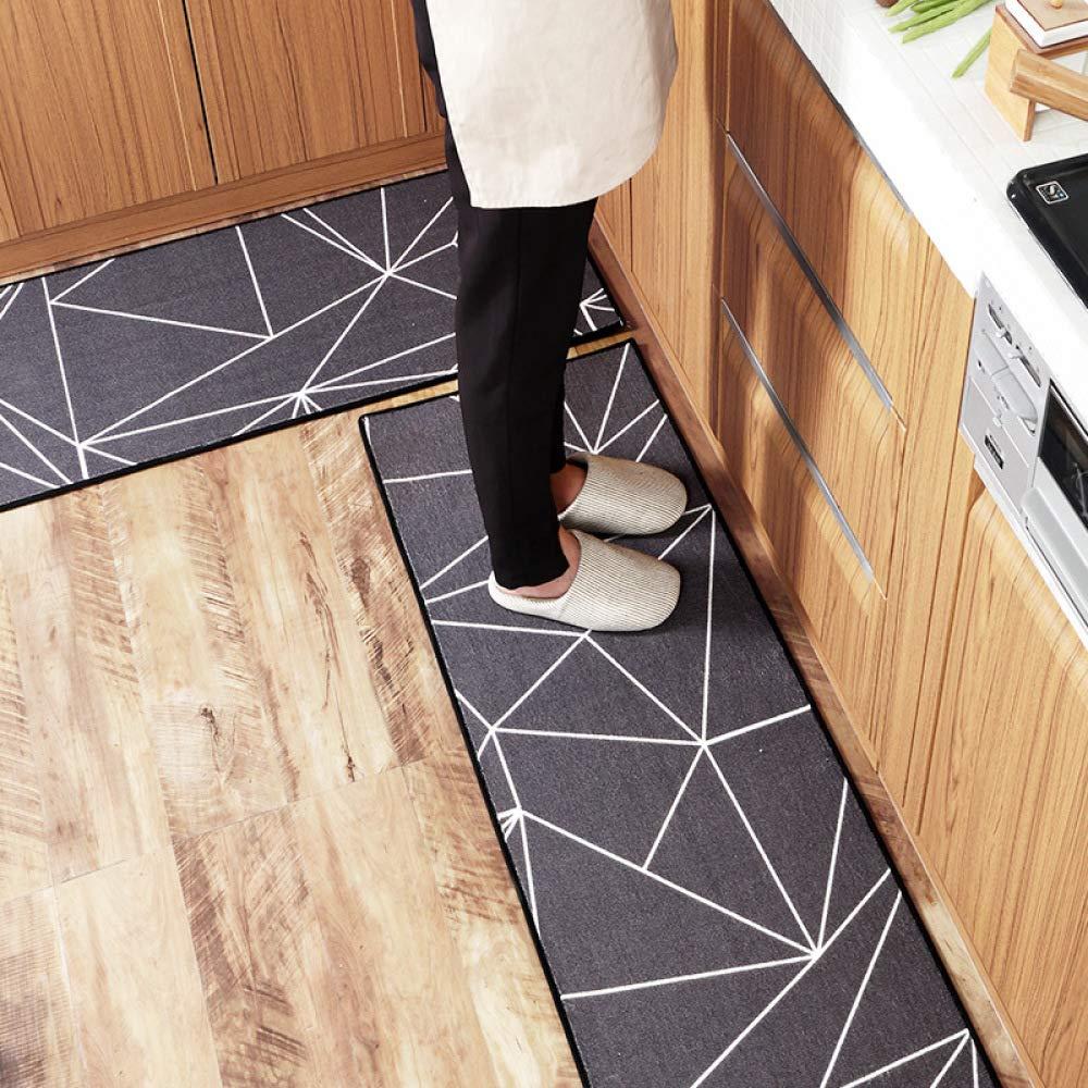 Nouler Haushalt Nylon Küche Bodenmatte Bodenmatte Bodenmatte Fuß Pad Moderne Persönlichkeit verschleißfesten Wasseraufnahme Rutschfeste B07MJZ8GM5 Duschmatten 954127
