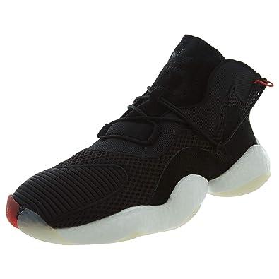 best website dbece b8fa3 adidas Originals Crazy BYW Shoe Mens Casual 8 Black-White-Bright Red