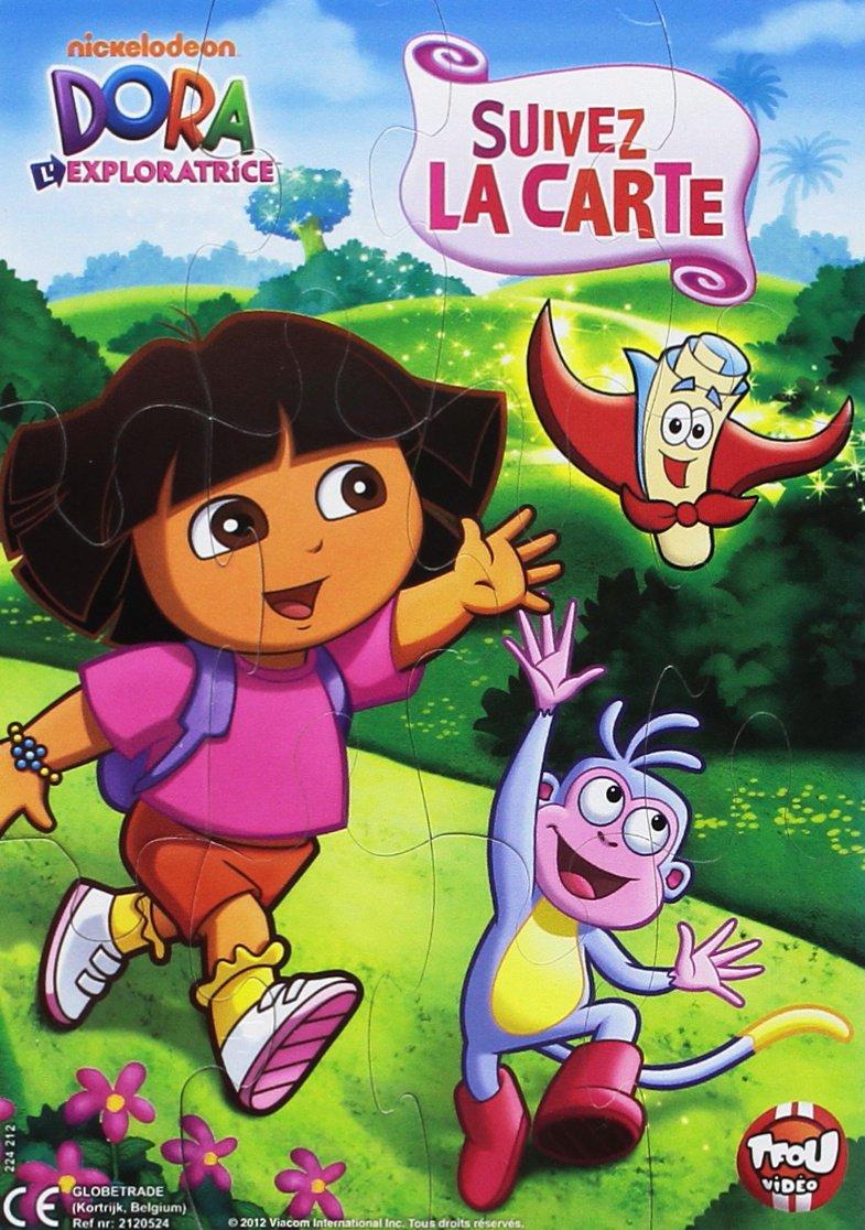 Dora Lexploratrice Vol 1 Suivez La Carte Puzzle Magnet Dvd