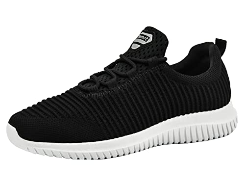 81f86c12123 Riemot Flyknit Running Shoes for Men and Women Super Lightweight Breathable  Slip on Trainers for Casual