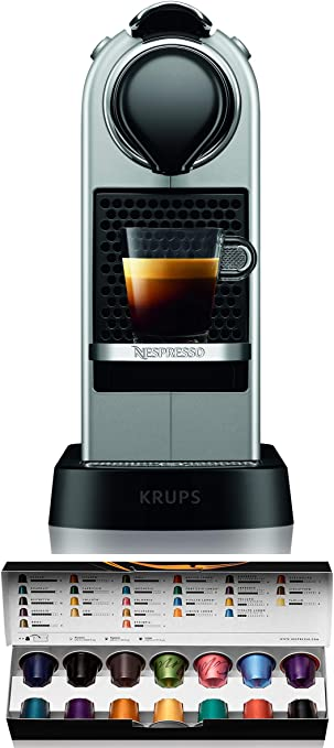 Nespresso XN741B Silver EU, Acero Inoxidable, Citiz Gris: Amazon ...