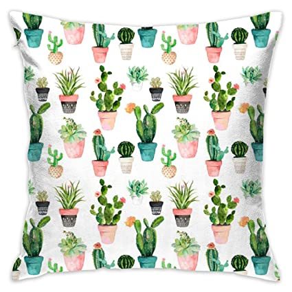 Amazon.com: twenily 7 Cactus Obsession White_1577-shopcabin ...