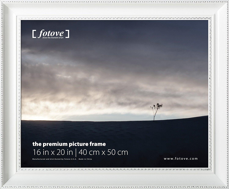 Fotove 16x20 White Crown Picture Photo Frame by FOTOVE   B014VJPYBK