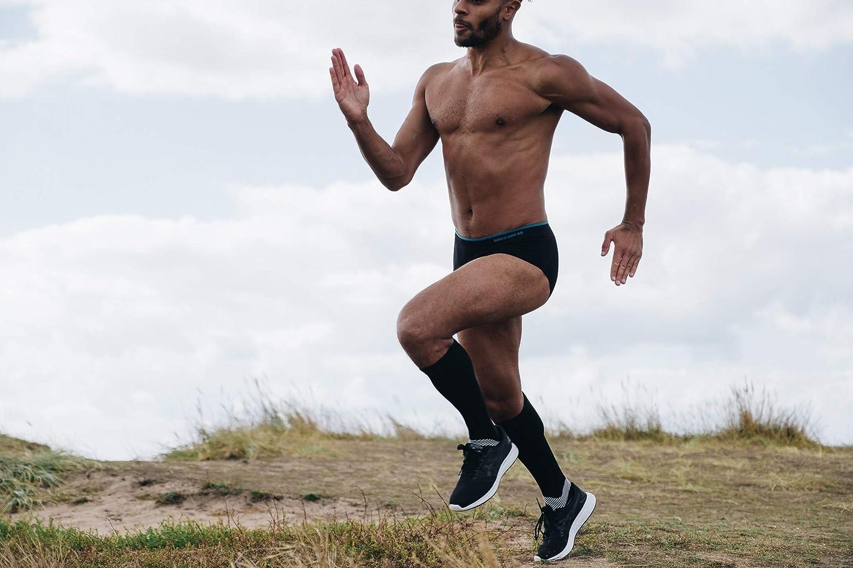 Cyclisme Runderwear pour Homme Brief-Anti-Chafe sous-v/êtements pour la Course /à Pied et Tous Les Autres Sports