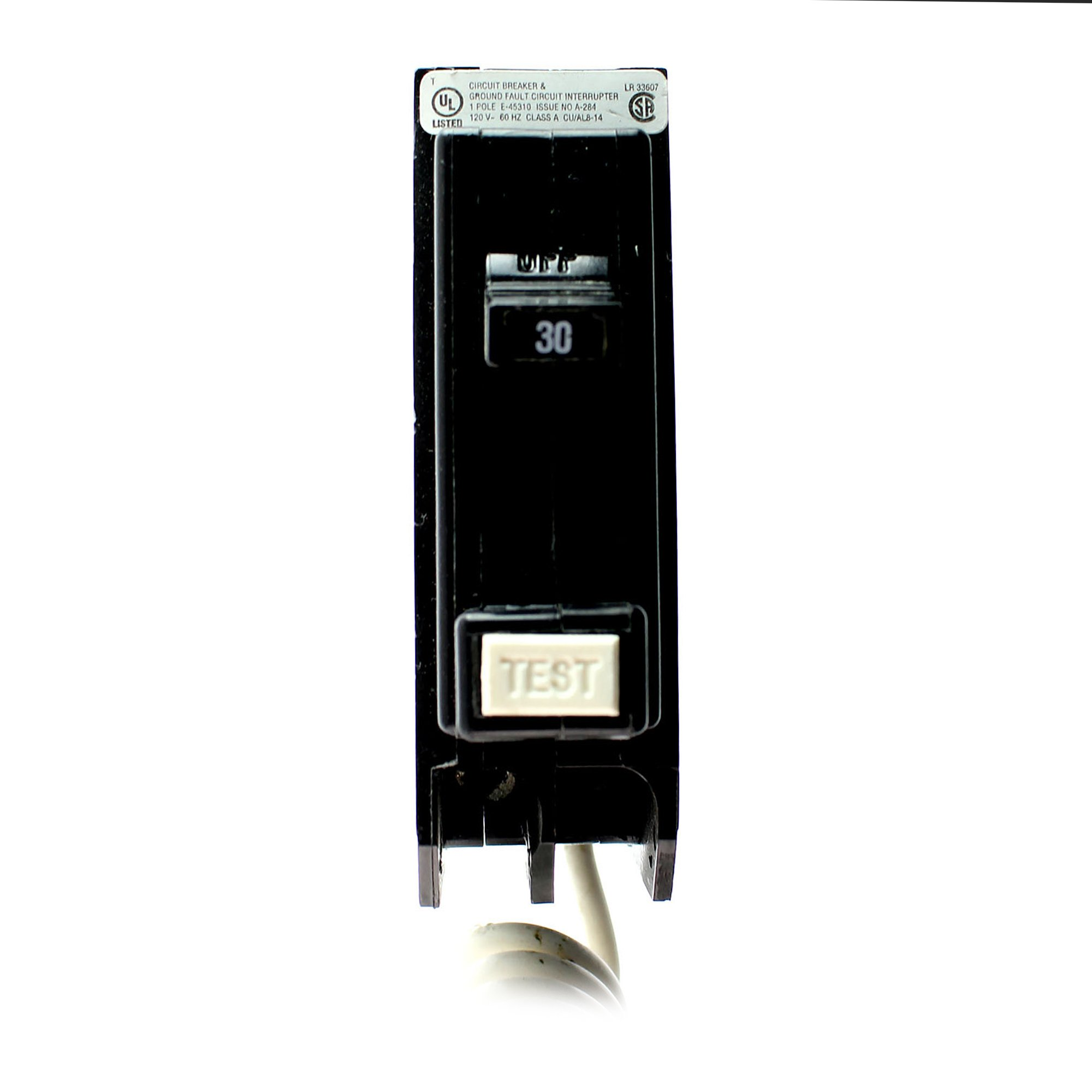 Cutler Hammer Eaton QBGF1030 Ground Fault Circuit Breaker 120V