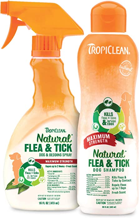 Top 10 Tropiclean Natural Flea  Tick Home Spray