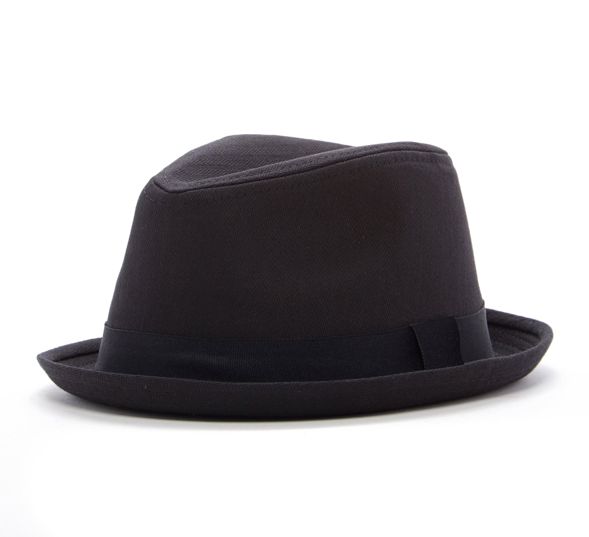 Born To Love Boy's Fedora Hat With Black Band 58 cm (8 Years - Up)