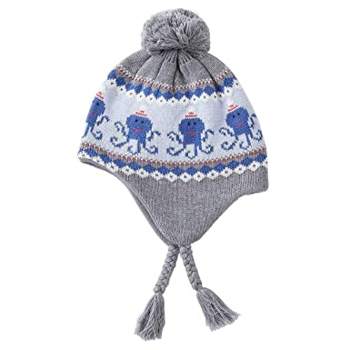 3546f96e2943 Magracy Baby Toddler Winter Earflap Beanie Hat Kids Fleece Lined ...