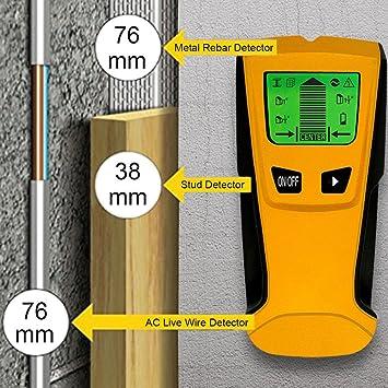 sunnymi 3 in 1 Wand Metall Kabel Detektor/Multi Detektor Bolzen ...