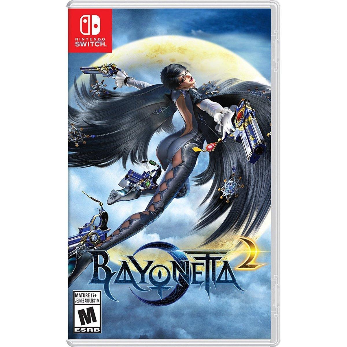 Amazon com: Bayonetta 2 (Physical Game Card) + Bayonetta