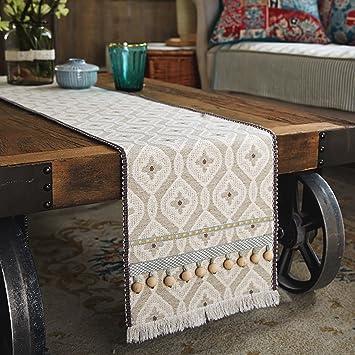 Anjcd Tischlaufer Modern Simplicity Tv Schrank Esszimmer Tisch