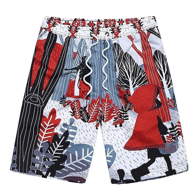 Naturazy Pantalones Cortos de natación para Hombres Traje de ...