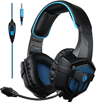 Sades SA-807d Over-Ear 3.5mm Wired Gaming Headphones