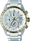 Citizen Herren Chronograph Solar Uhr mit Titan Armband AT8156-87A