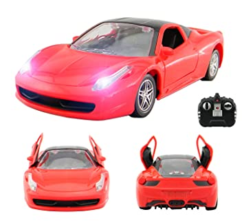 High Quality Ferrari LaFerrari Style RC Remote Radio Controlled Toy Car With Opening  Doors Via Remote And Lights Design
