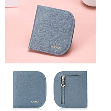 Amazon.com: Cartera, corto, coreano, plegable, cartera de ...
