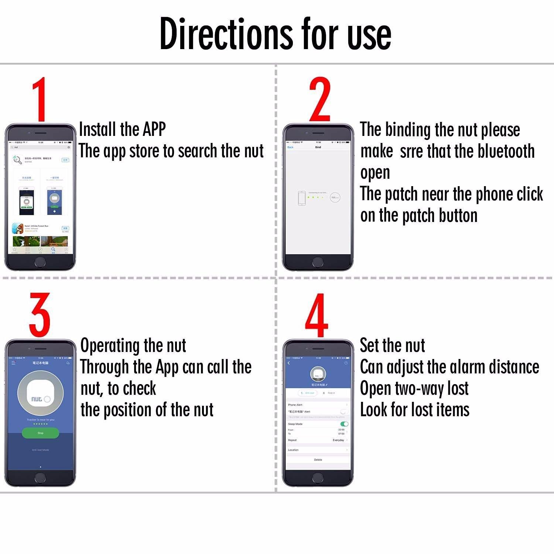 KING DO WAY Smart Tag Bluetooth rastreador anti-perdido ...