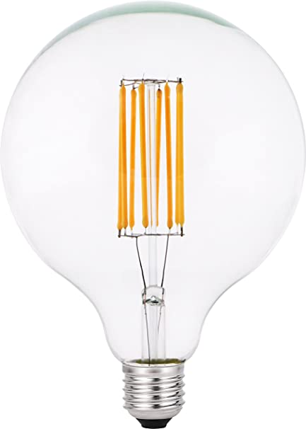 Garza Lighting - Bombilla LED Vintage Clear, potencia 4W, casquillo E27, luz cálida