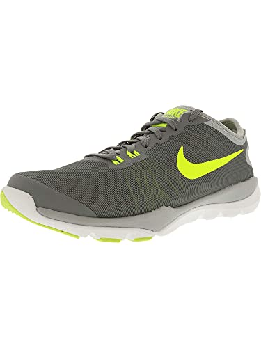 e05f6de6da5 Nike Women s Flex Supreme TR 4 Cross Trainer Black Hyper Pink Wolf Grey  Medium   11 B(M) US  Amazon.in  Shoes   Handbags