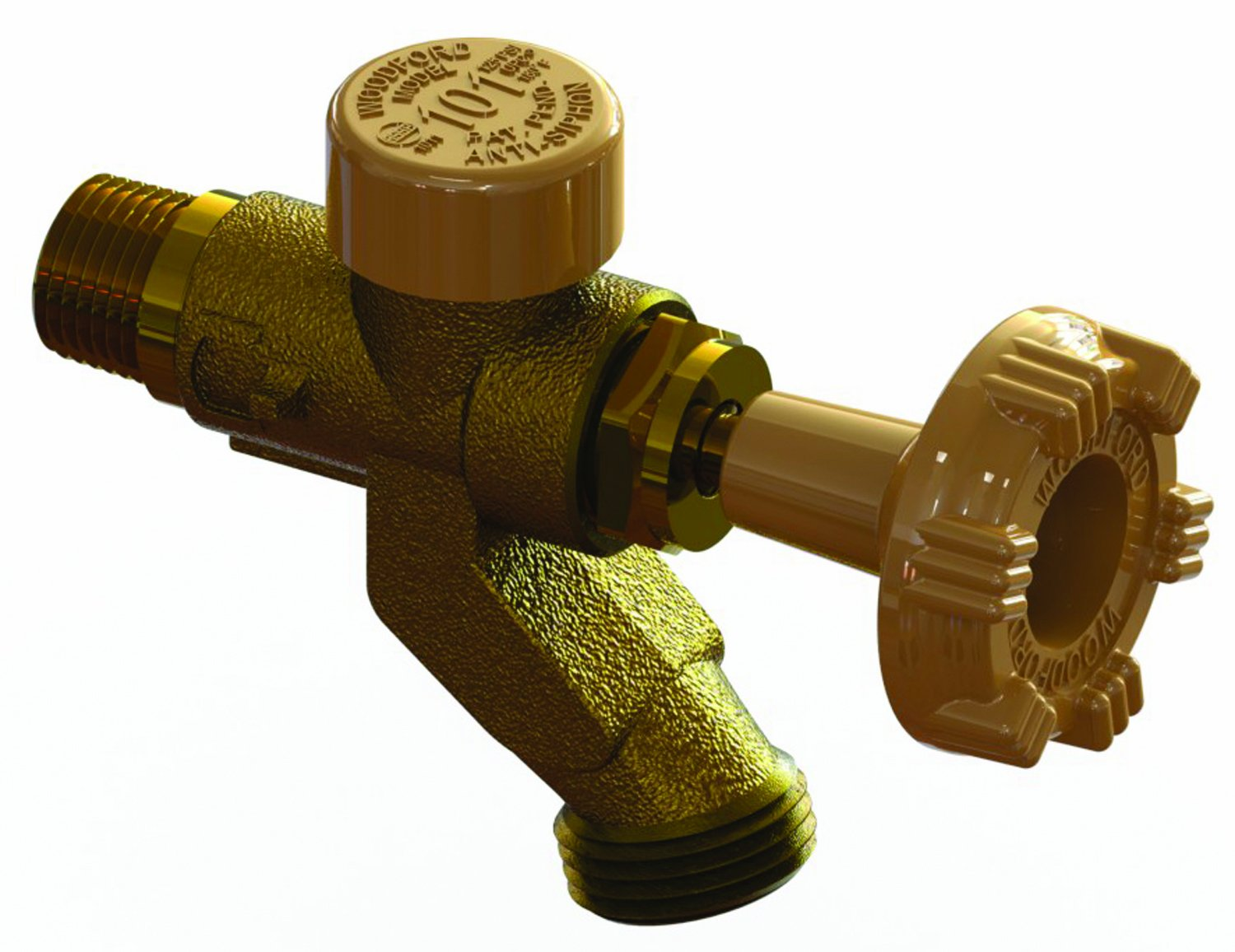 Woodford V122P Model V122P Hot and Cold Faucet by Woodford