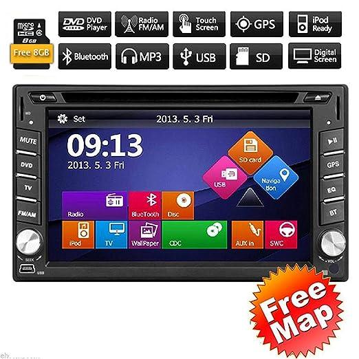 3 opinioni per 2 din in dash Multimedia Stereo Deck Win8 Video auto Autoradio GPS Navi Auto
