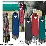 Cashel Neoprene Tail Bag for Horses, Color Choice: Black, Navy, Burgundy, Green, Red or Hot Leaf Camo