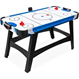 Best Choice Products 58in Mid-Size Arcade Style Air Hockey Table for Game Room, Home, Office w/ 2 Pucks, 2 Pushers, Digital L