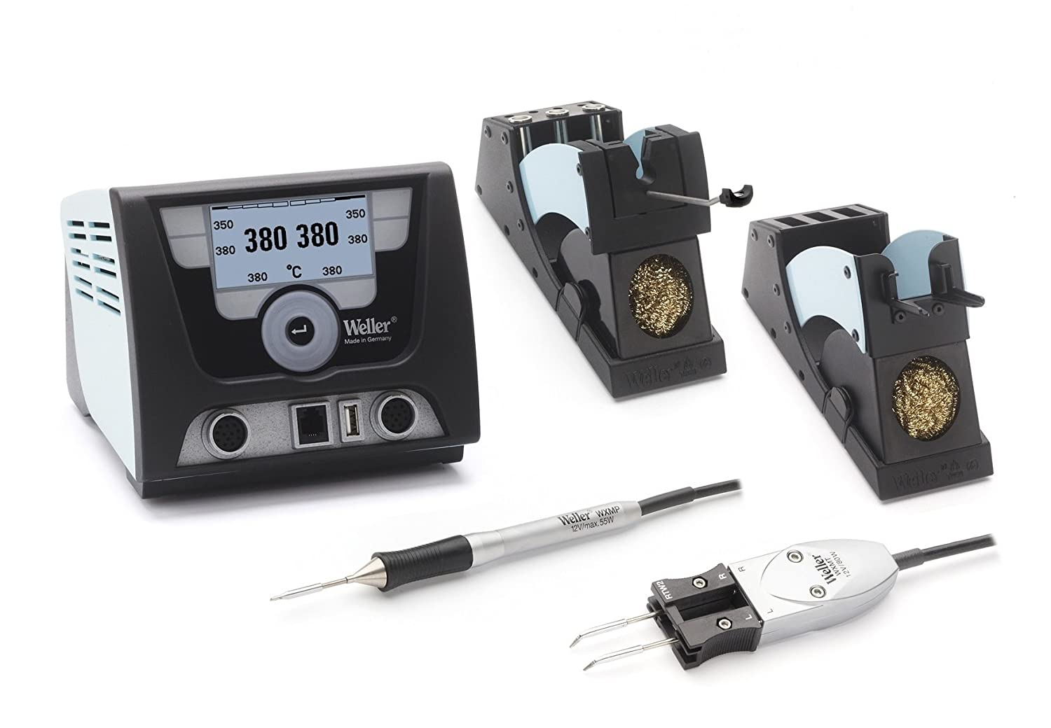 Weller Wx2021 Wxmp Wxmt Wdh50 And 60 120v Solder De Wlc 100 Temperature Controlled Soldering Station Irons