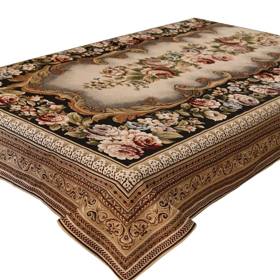 150240 KERVINFENDRIYUN YY4 Couverture de table simple de table de polyester simple pour le dîner de parcravate (Taille   150  240)