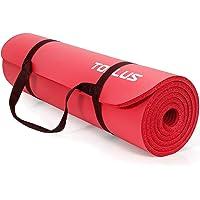 TOPLUS Pogrubiona mata gimnastyczna, bez ftalanów, mata do jogi, antypoślizgowa i przyjazna dla stawów, mata sportowa do…