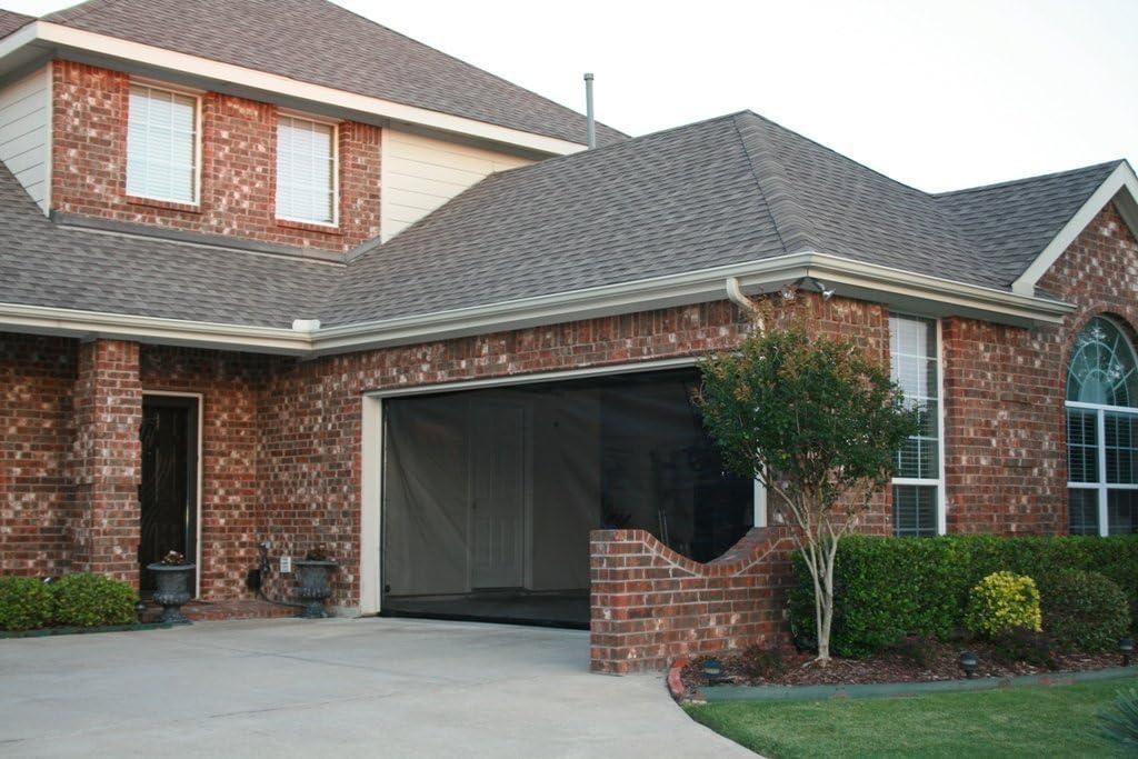 Affordable garage door screen
