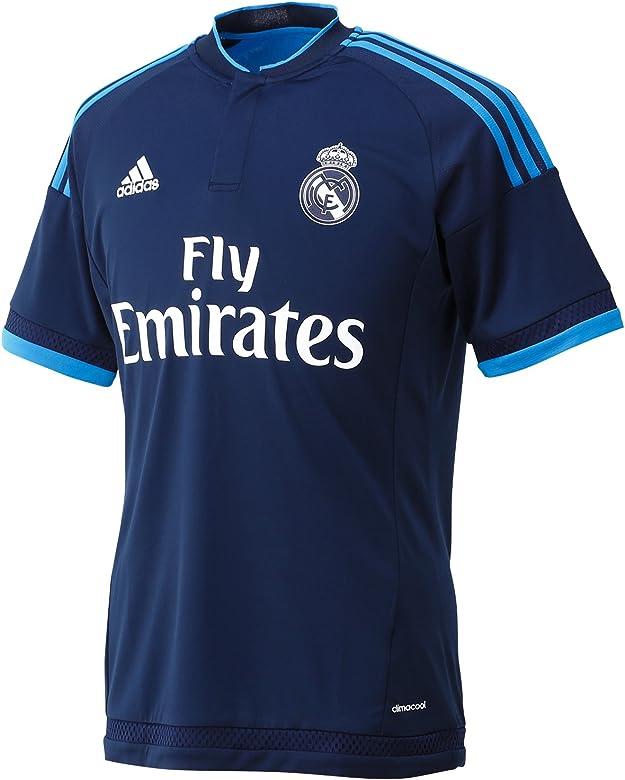 3ª Equipación Real Madrid CF - Camiseta oficial adidas, talla XS: Amazon.es: Ropa y accesorios