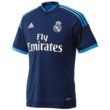 half off 69ecf 92b77 adidas Trikot Madrid 3rd Jersey Men's Real 3 T-Shirt-Blue/ANINOC/AZUBRI,  3X-Large
