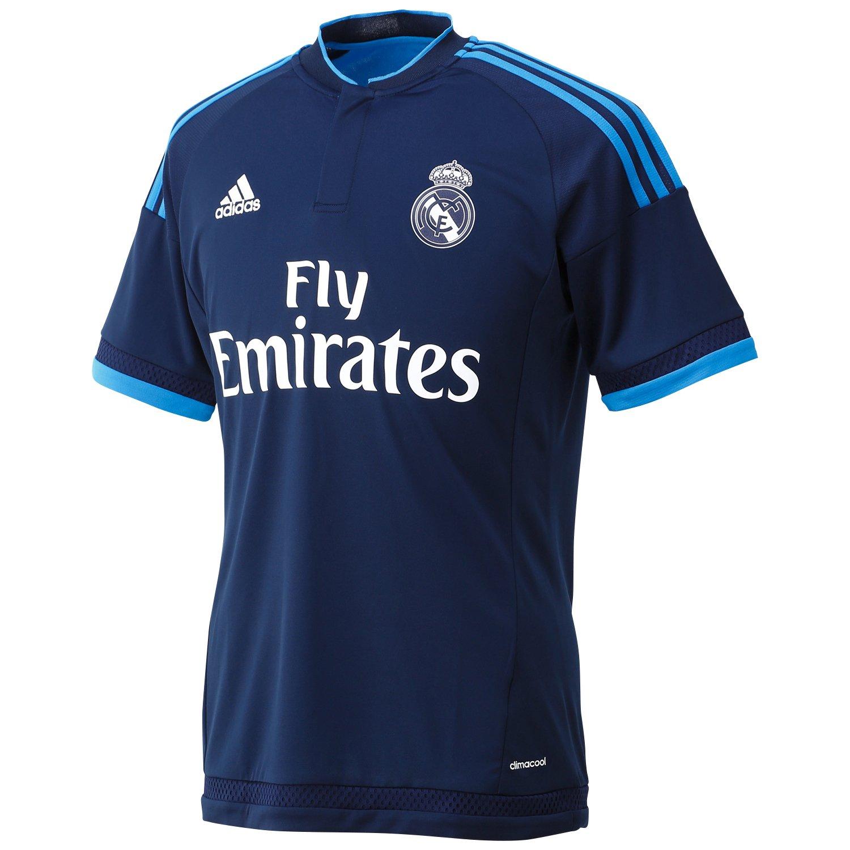 Adidas 3ª Equipación Real Madrid CF - Camiseta Oficial, Talla S