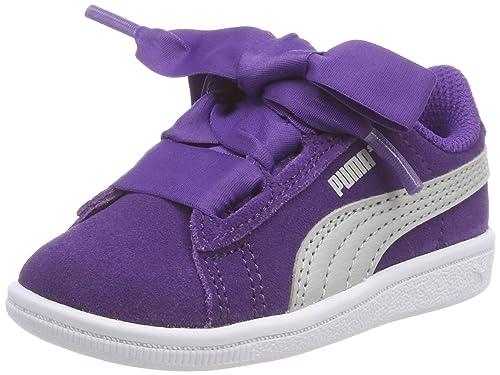 Puma Vikky Ribbon AC Inf, Zapatillas para Niñas: Amazon.es: Zapatos y complementos