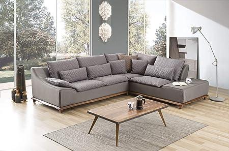 Sofá Dreams Acogedor plástico Couch Halle con cojín Lumbar ...