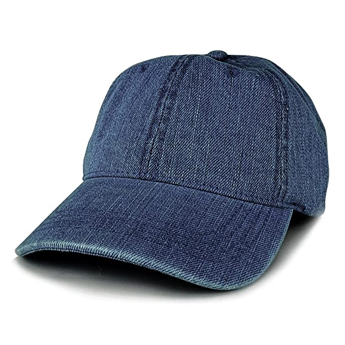 0b0cd66b4 Trendy Apparel Shop Low Profile Unstructured Denim Garment Washed Baseball  Cap